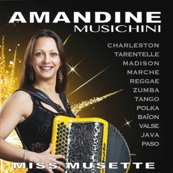 Album Amandine Musichini Miss Musette